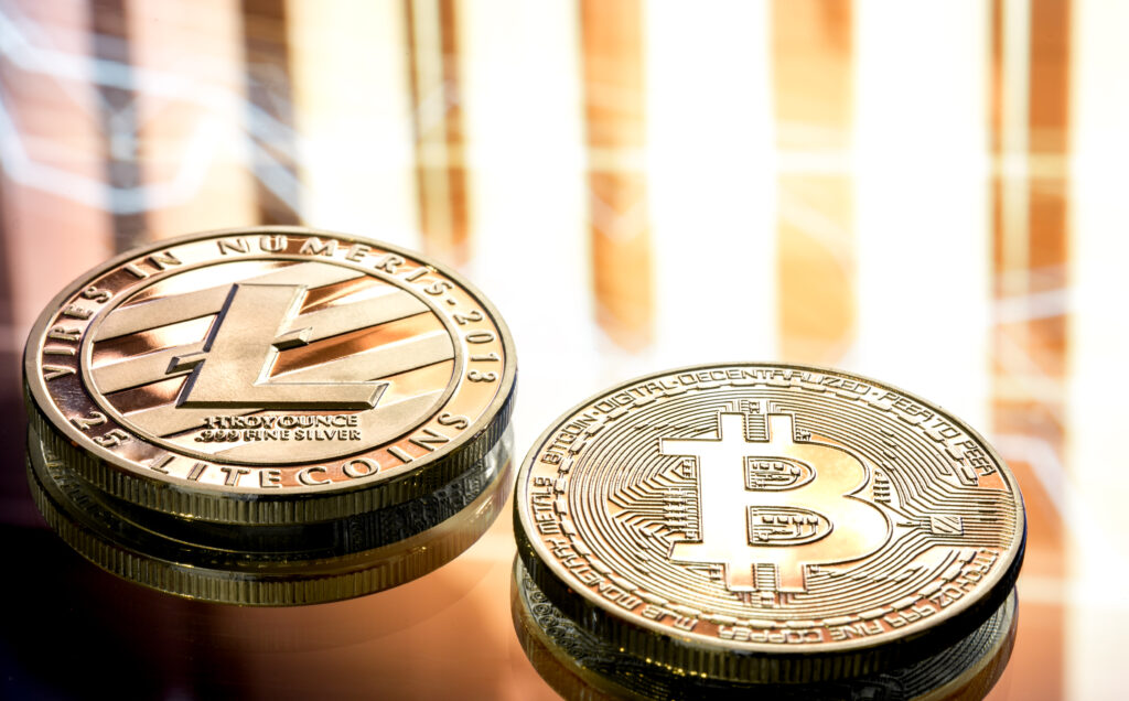 Bitcoin and Litecoin Cryptocurrency