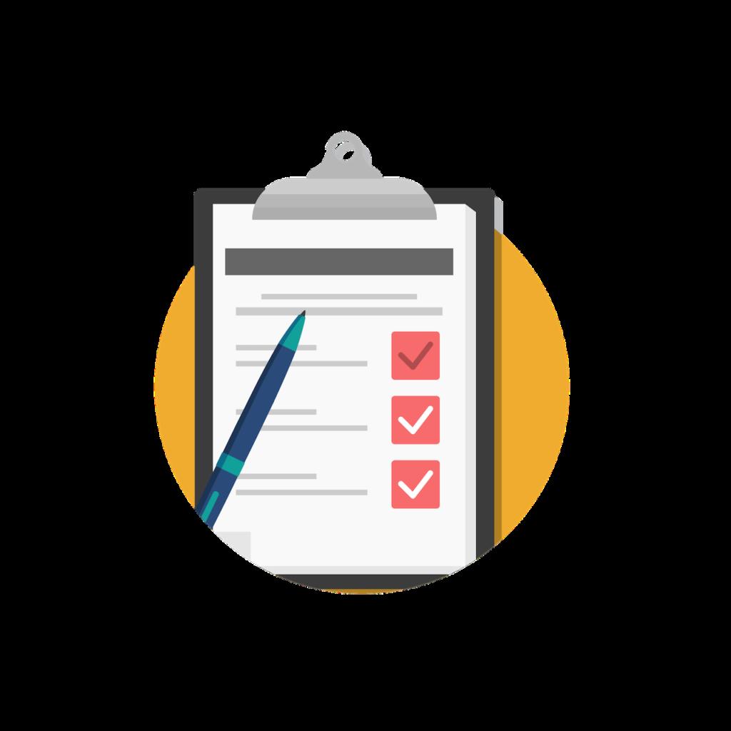 Recap checklist