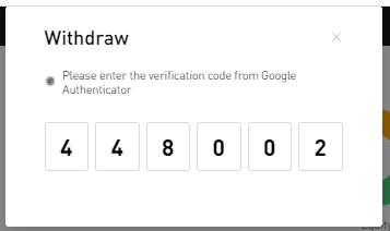 Bybit 2FA Google authenticator code
