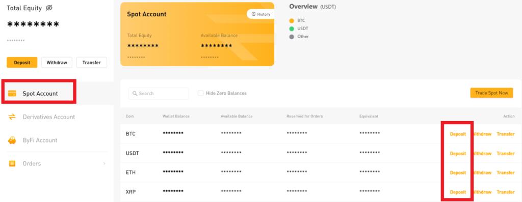 Bybit Assets Dashboard