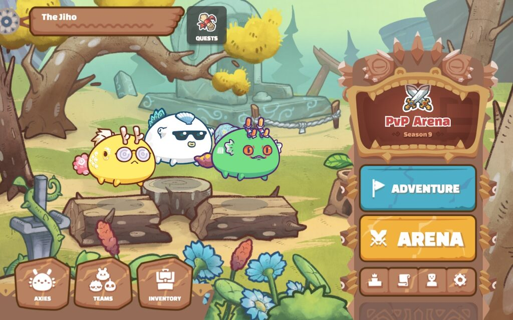 Axie in-game pets