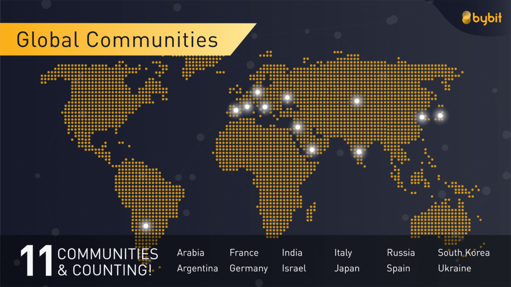 Bybit global communities