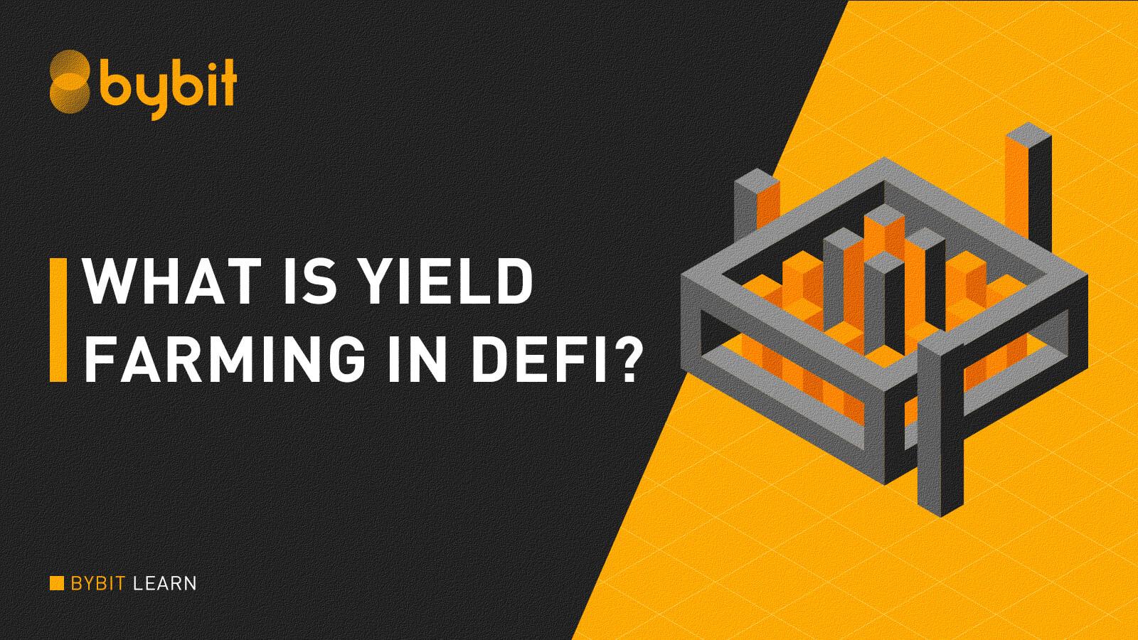What is yield farming in decentralized finance?