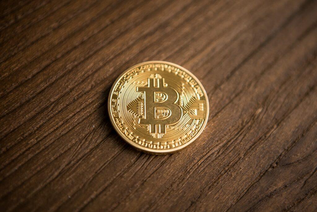 Bitcoin gold token.
