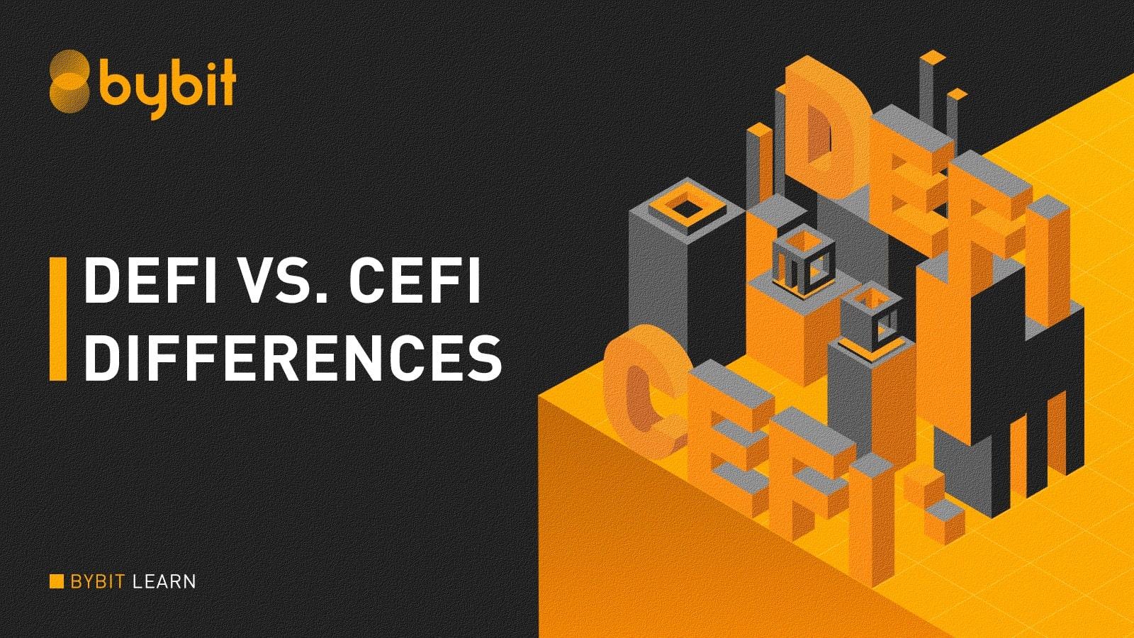 Defi vs CeFi Differences