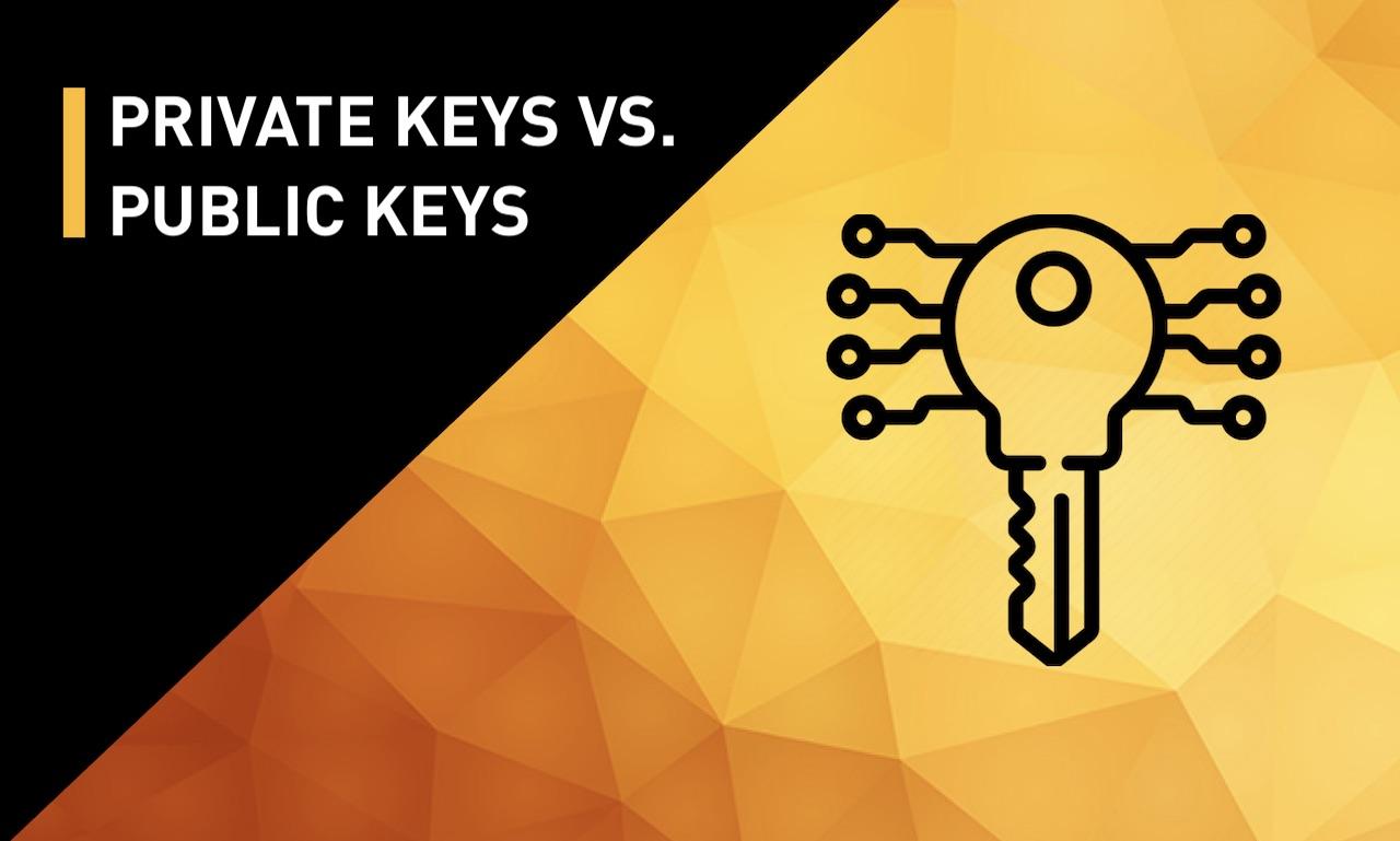 Private keys vs Public Keys