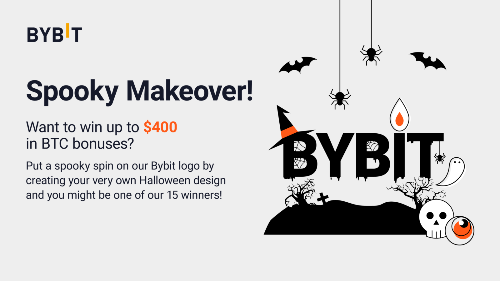 Bybit Spooky Makeover 2021